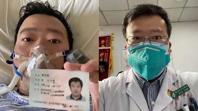 Tewasnya Li Wenliang, Dokter Penemu Pertama Virus Corona Yang Awalnya Dituduh Polisi Menyebarkan Hoax