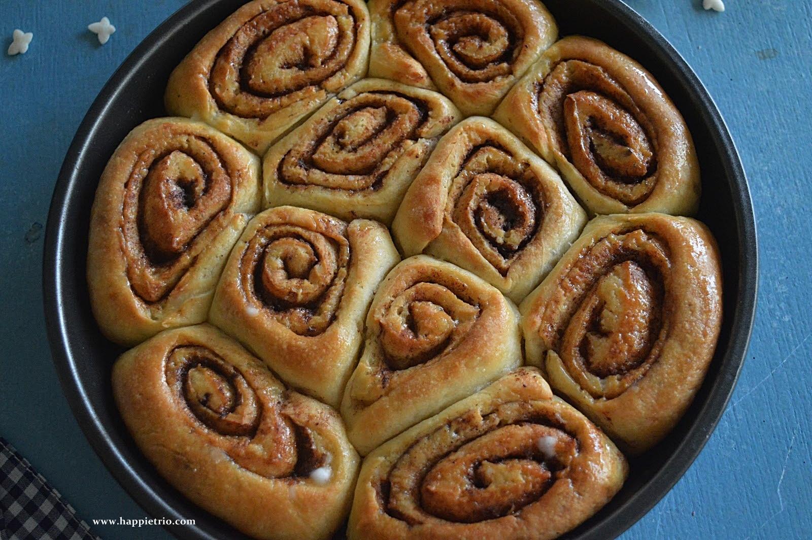 Eggless Cinnamon Rolls Recipe | How to prepare Cinnamon Rolls