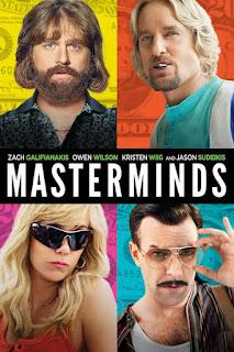 Masterminds (2016) BluRay 720p 900MB Dual Audio [Hindi-English] ESubs Download MKV