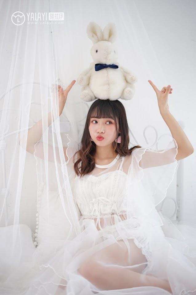 YALAYI雅拉伊  2018.05.25 NO.001 恋上你的床 公主小兔子