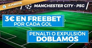 Paston promo City vs PSG 4-5-2021