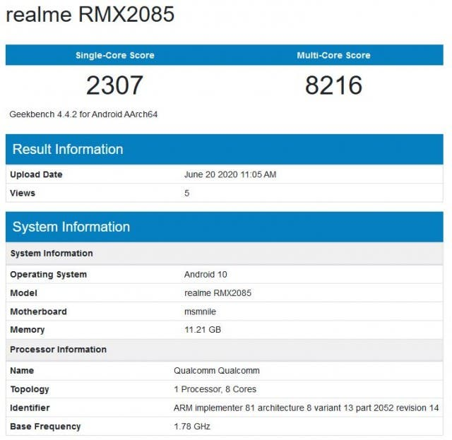 """مواصفات هاتف REALME X3 سيخصل 12 غيغابايت من ذاكرة الوصول العشوائي  """"RAM"""""""