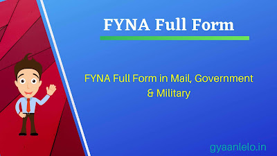 FYNA Full Form