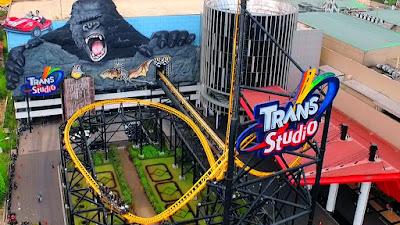 Trans Studio Bandung Bersama Traveloka Xperience