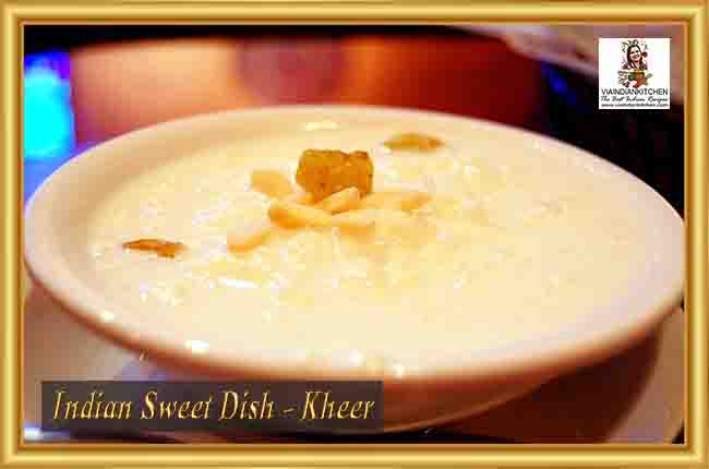 Indian Sweet Dishes - Kheer