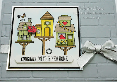 Flying Home, Birdhouses, Stampin' Up!