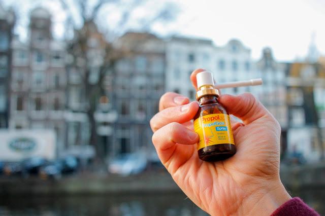 spray propoli contro il mal di gola