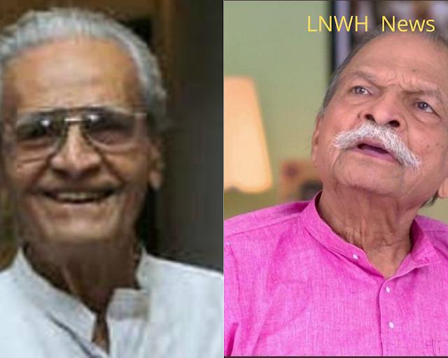 Manu Mukherjee (Machlibaba), a veteran actor of Bengali cinema, Ravi Patbardhan, a veteran actor of Marathi cinema, passed away.