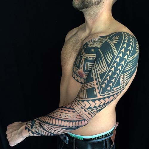 maori tribal dövmeler tattoos 13