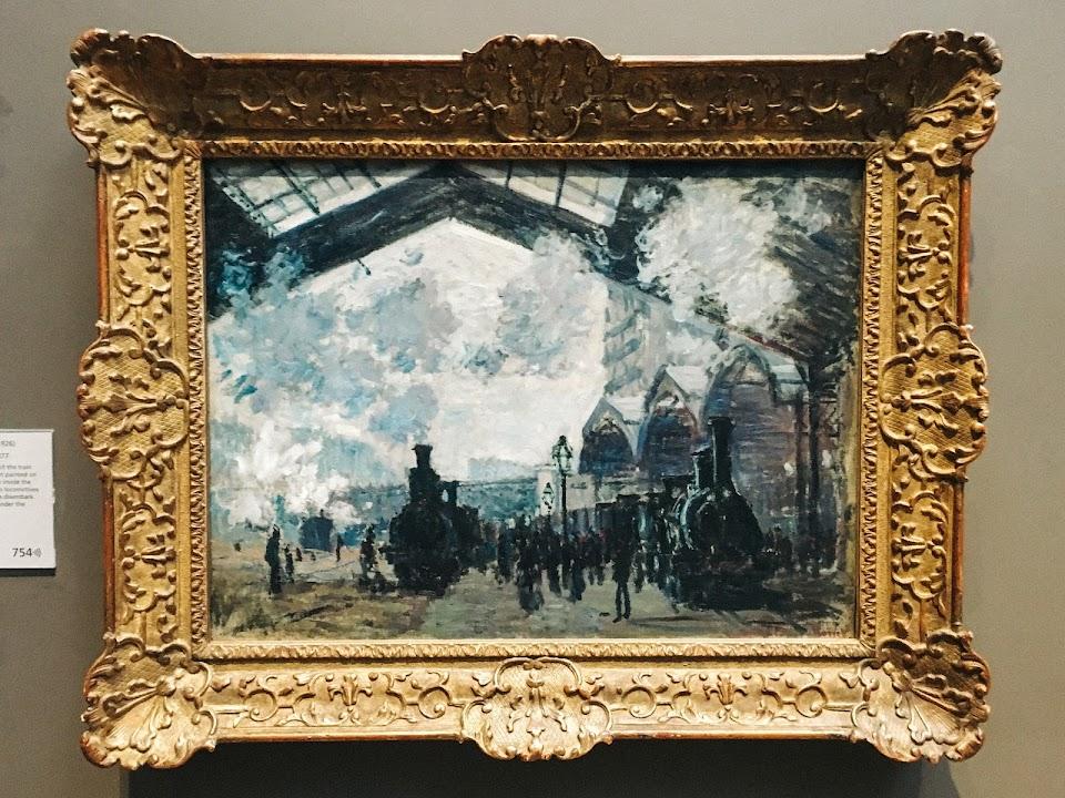 サン・ラザール駅(The Gare St-Lazare)1877年