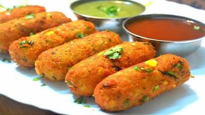 Corn Kebabs - Bhutta Kabab