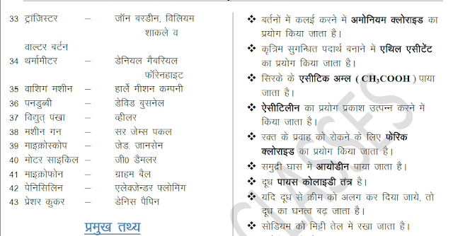 General Science Exam Tonic in Hindi PDF Download