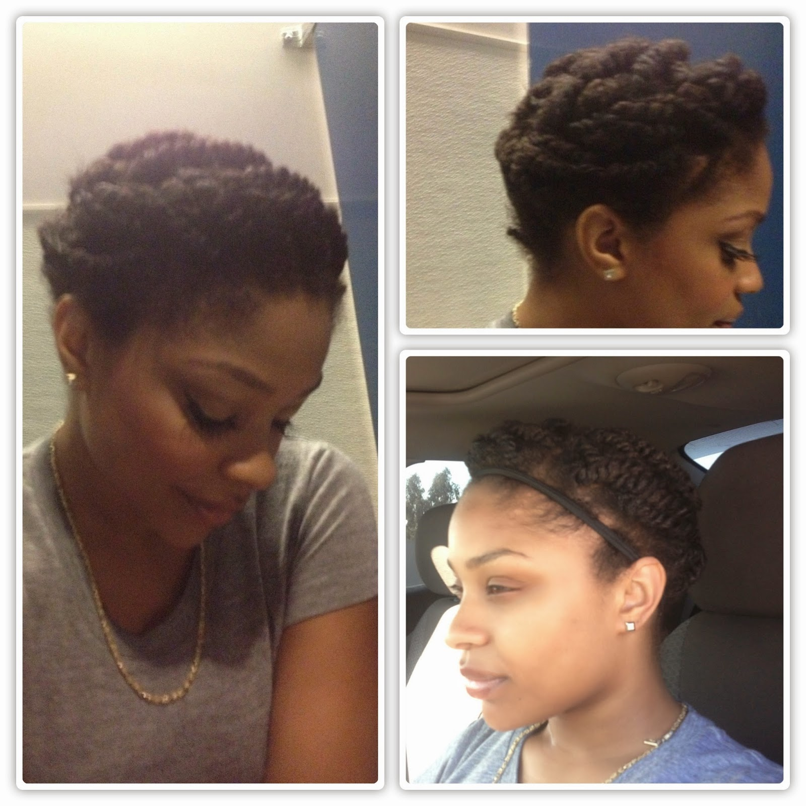 Awesome Protective Styles For The Awkward Length Natural Hair Stage Short Hairstyles Gunalazisus