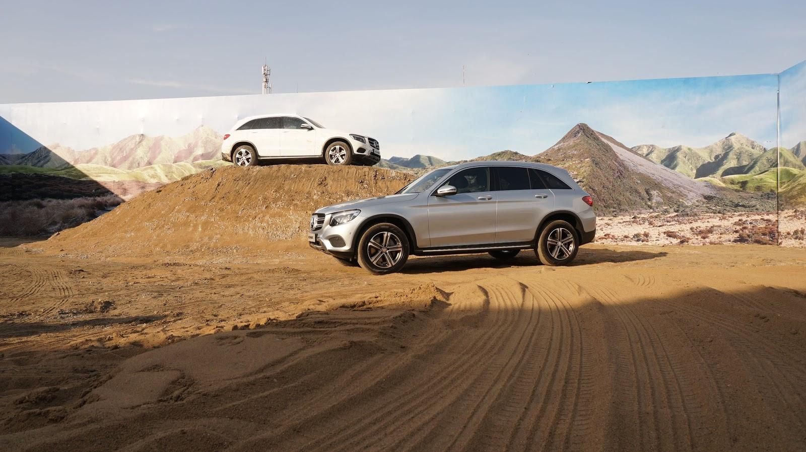 Khả năng offroad của Mercedes Benz GLC phải nói là gây bất ngờ lớn, thực sự là một chiếc xe đa nhiệm