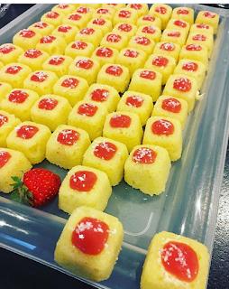 Bouchées coco-fraises