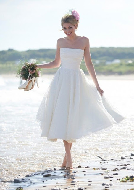 The Best Simple Beach Wedding Dresses Casual Looks More Fascinating