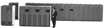 IBM 3390 hard drives - direct access storage device