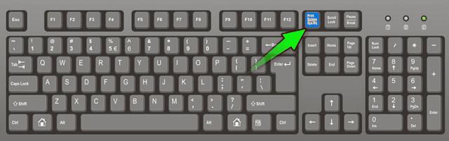 print keyboard