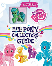 MLP Mini Pony Collector's Guide Book Media