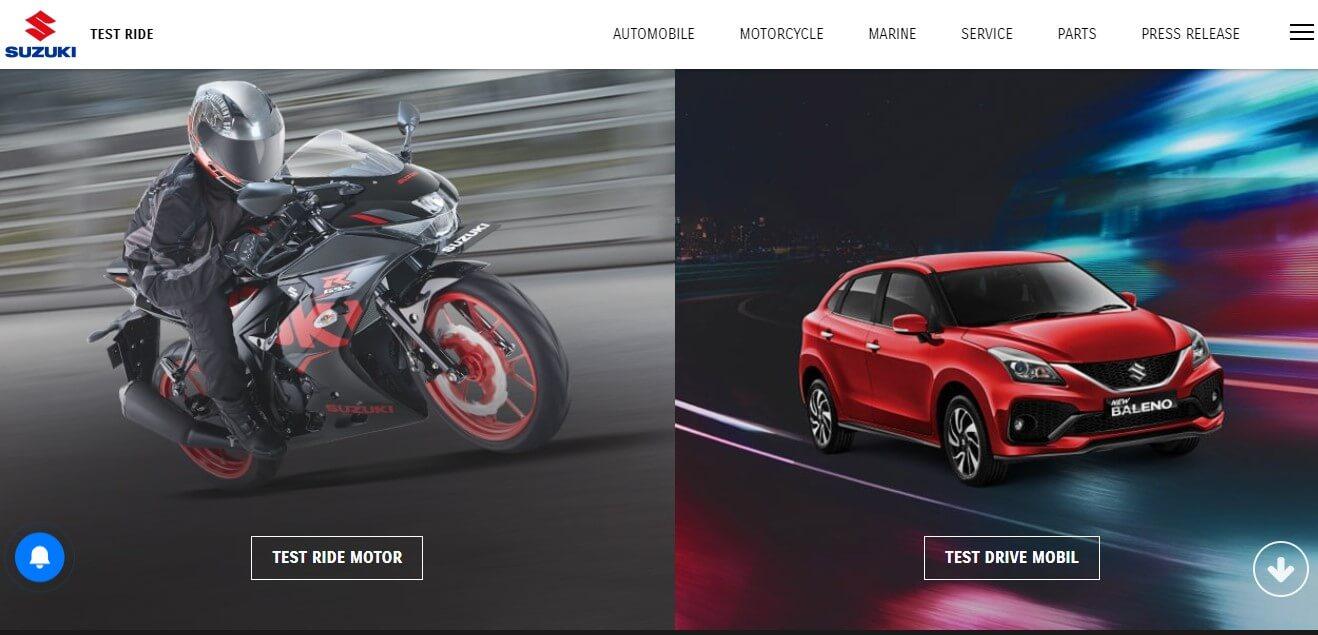 Test Drive Suzuki