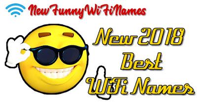 New best Wifi names