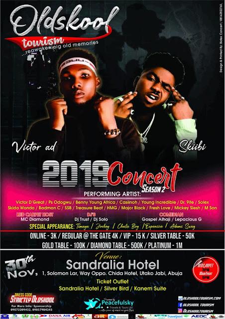 Old Skool Tourism Concert Season 2