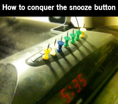 Conquer the Snooze Button