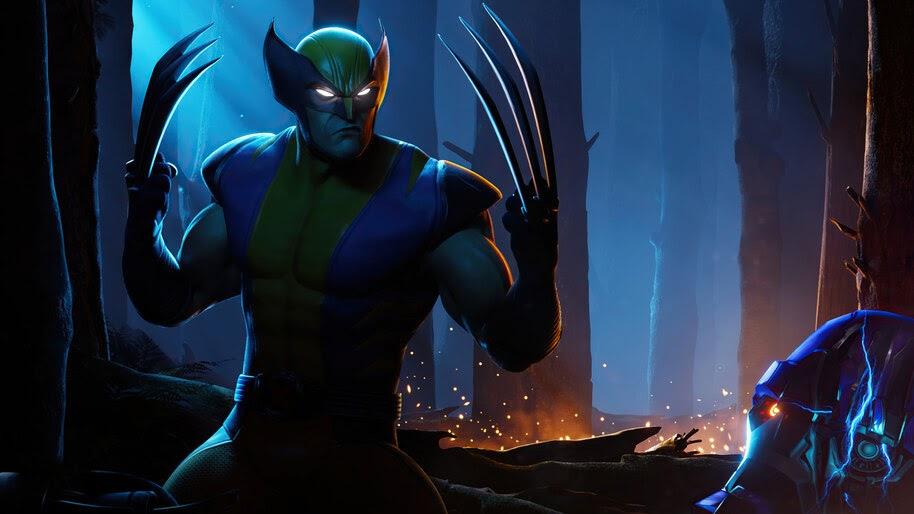 Fortnite Wolverine Marvel 4k Wallpaper 3 2643
