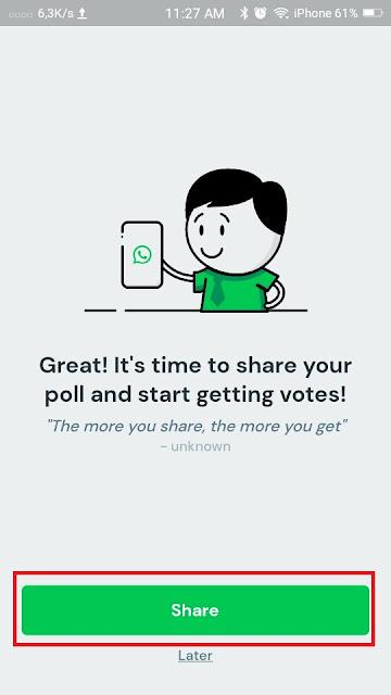 Cara Membuat Polling di Whatsapp 14