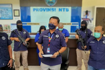 BNNP NTB Berhasil Mengungkap Sepasang Suami Istri Dengan Modus Roket