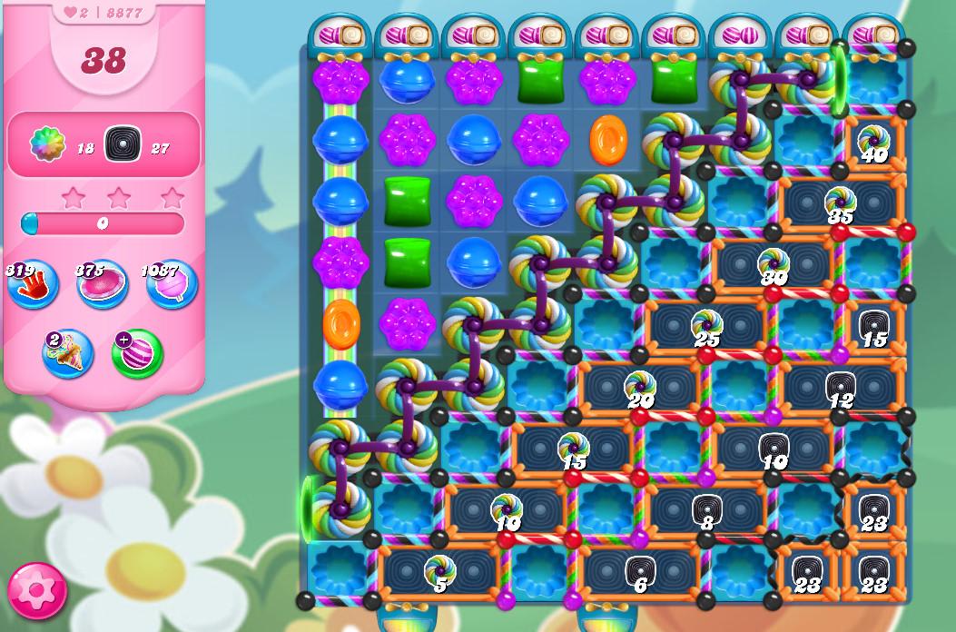 Candy Crush Saga level 8877