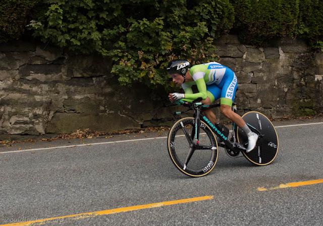 Primož Roglič - Slovenian cyclist, Bergen, 2017