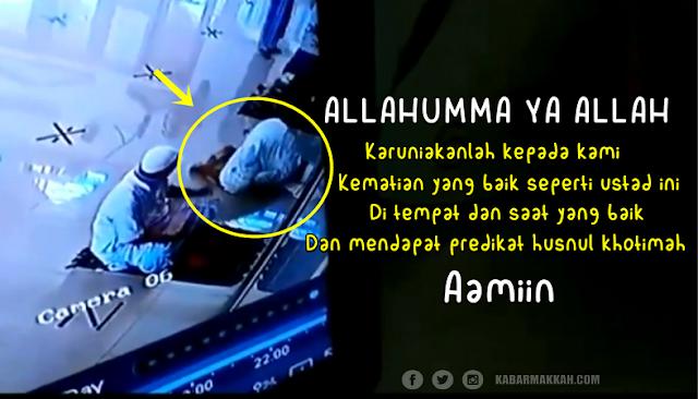 Innalillahi, Ustad Hasan Meninggal Ketika Sujud Saat Shalat di Masjid, Videonya Viral di Media Sosial