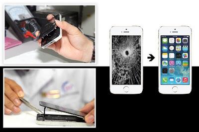 Thay mặt kính iphone 6s plus chính hãng
