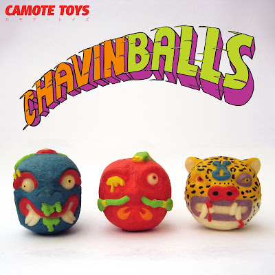 Chavinballs Foam Figures by Camote Toys
