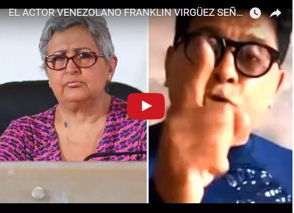 Franklin Virguez le lanza de todo a Tibisay Lucena