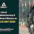 List of Distinguished service and gallantry award winners on Republic day 2020