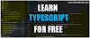 Free Sources to Learn TYPESCRIPT