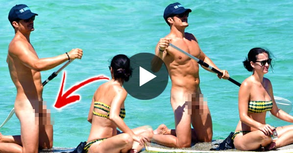 Orlando Bloom Naked Beach Photos