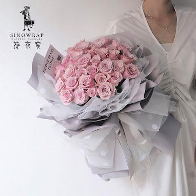 Kertas Buket Bunga / Flower Bouquet Wrapping Paper (Seri OGS MLS)