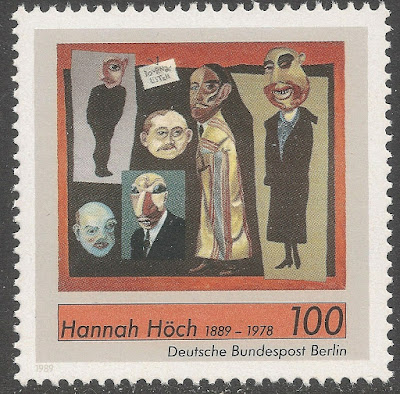 Hannah Höch, German painter and photographer