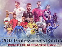 Patch PES 2017 Terbaru dari PES Professionals 4.3 WC 2018 Edition
