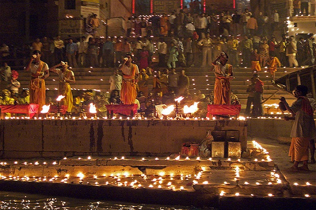 Diwali gets a sacred touch at Varanasi, Uttar Pradesh