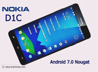 Nokia D1C Android phone detailed specs