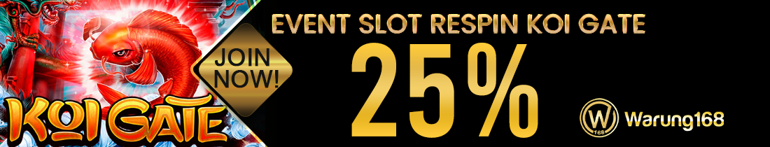 EVENT GAME SLOT WARUNG168 RESPIN KOI GATE