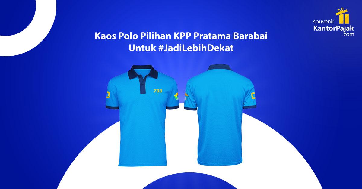 souvenir kaos polo KPP Barabai