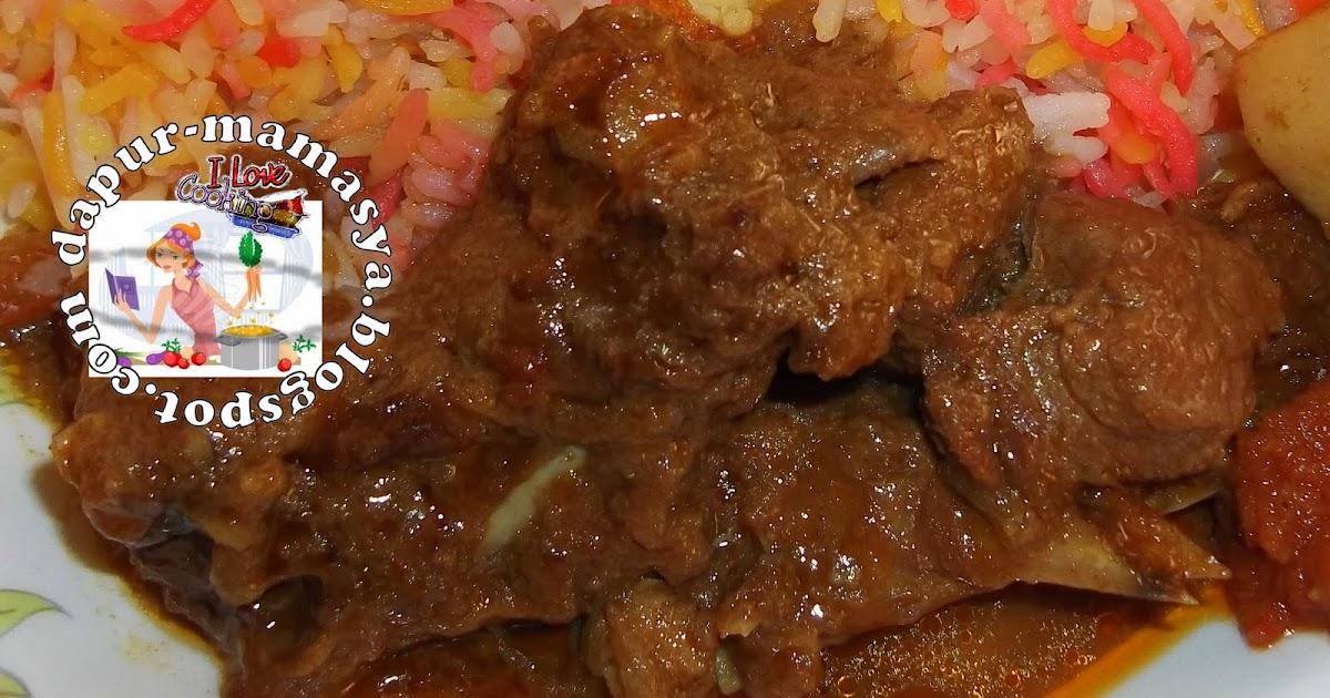resepi gulai ayam  rempah surasmi Resepi Mee Jawa Tanpa Daging Enak dan Mudah