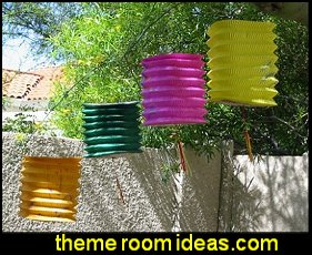 Paper Lanterns garden party decorations alice in wonderland party decorations