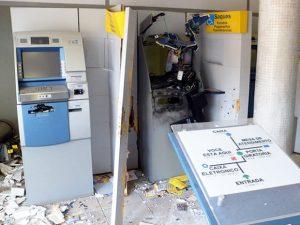 Saboeiro vive madrugada de pânico. É o 16º ataque a caixas eletrônicos este ano no Ceará