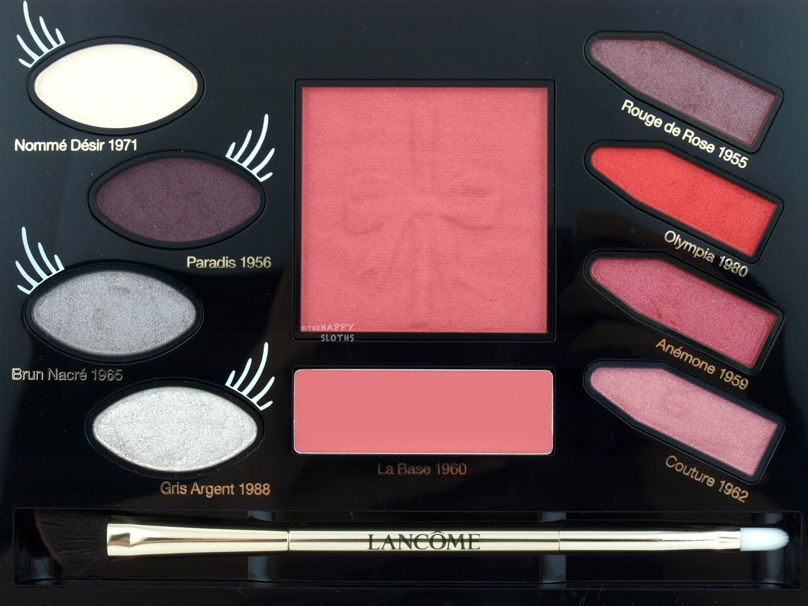 Lancome x Olympia Le-Tan Collection Olympia's Wonderland Palette: Review and Swatches